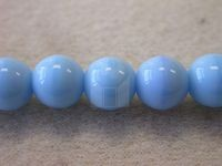 Czech Pressed Glass Smooth Round Druk Bead 8mm, Turquoise 2 (Pkg of 300 Pieces)