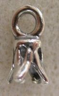 Sterling silver End crimp pc36
