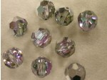 Preciosa Czech Crystal Round Bead 12mm, Crystal Vitreal Light