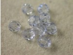 Preciosa Czech Round Crystal Bead 5mm, Medium Sapphire Blue