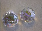 Czech Crystal 120 Faceted Ball 20mm Clear AB