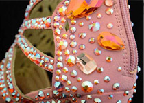 Hot-fix Rhinestone On Shoe