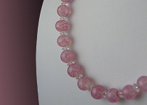 Necklace Glass Beads