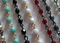 Linked Beaded Chains