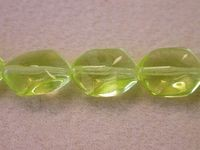 Czech Pressed Glass Sliding Diamond 14x11mm, Citrine 2 (Pkg of 300 Pieces)