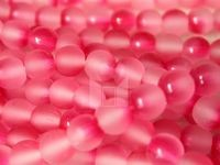Czech Glass Smooth Round Druk Bead Evelina Cranberry (Pkg of 300 Pieces)