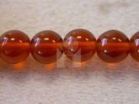 Czech Pressed Glass Smooth Round Druk Bead 8mm, Topaz 3 (Pkg of 300 Pieces)