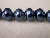 Czech Glass Baroque Pearl Bead 8mm, Blue (Pkg of 300 Pieces)
