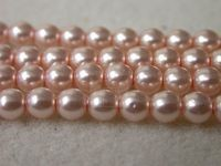 Czech Glass Smooth Round Pearl Bead 4mm, Pink, (Pkg of 600 Pieces)