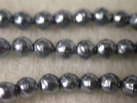Czech Glass Baroque Pearl Bead 3mm, Hematite (Pkg of 600 Pieces)