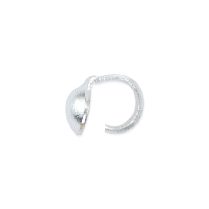 Bead Tip, .028 in (0.70 mm), 1 Cup, Silver Plated, 144 pc