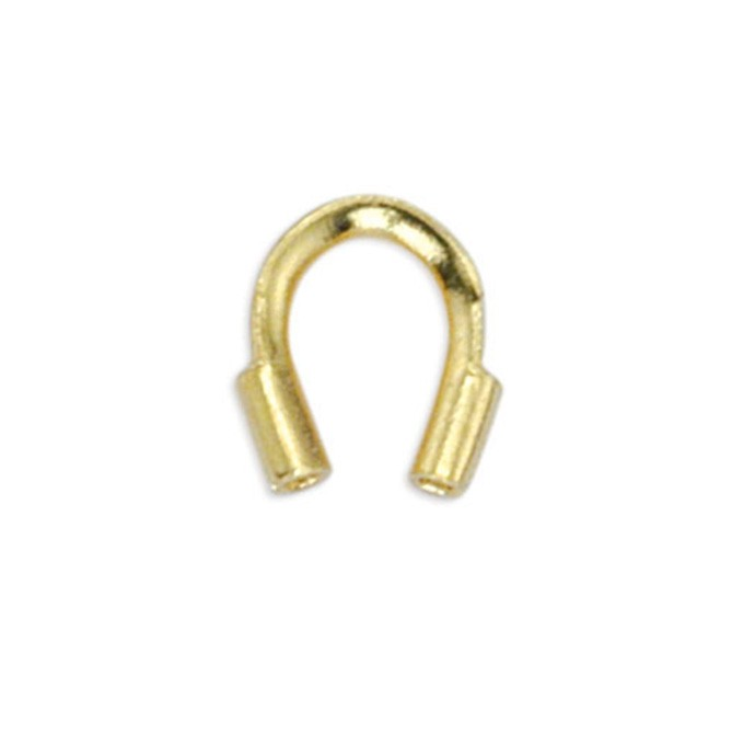 Wire Guardian, .022 in (0.56 mm) I.D., Gold Color, 144 pc