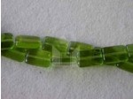 Czech Pressed Glass Smooth Rectangle Bead 15x10mm, Olivine Green (Pkg of 300 Pieces)