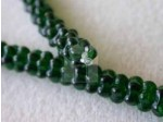 Czech Pressed Glass Flower Bead 7mm, Emerald Green (Pkg of 300 Pieces)