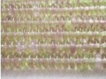Czech Pressed Glass Disc Bead 6mm, Light Amethyst/Light Olive (Pkg of 600 Pieces)
