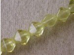 Czech Pressed Glass Bicone Bead 6mm, Jonquil, (Pkg of 300 Pieces)