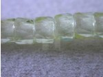 Czech Glass Fire Polished Faceted Pony Bead 6mm, Yellow (Pkg of 300 Pieces)