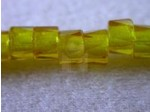 Czech Glass Fire Polished Faceted Pony Bead 6mm, Citrine (Pkg of 300 Pieces)