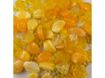 Czech Glass Half Pound Yellow Mix