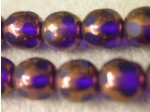 Czech Glass Smooth Round Druk Bead Spotted 10mm, Cobalt (Pkg of 300 Pieces)