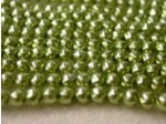Czech Glass Baroque Pearl Bead 4mm, Mint (Pkg of 600 Pieces)