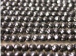 Czech Glass Baroque Pearl Bead 4mm, Jet Black (Pkg of 600 Pieces)