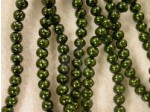 Czech Glass Baroque Pearl Bead 4mm, Hunter (Pkg of 600 Pieces)