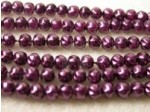 Czech Glass Baroque Pearl Bead 4mm, Eggplant (Pkg of 600 Pieces)