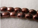 Czech Glass Pellet Pearl Bead 6x4.5mm, Bronze (Pkg of 300 Pieces)