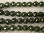 Czech Glass Baroque Pearl Bead 3mm, Hunter (Pkg of 600 Pieces)