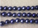 Czech Glass Baroque Pearl Bead 3mm, Royal (Pkg of 600 Pieces)