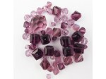 Preciosa Czech Crystal Shape Mix, Amethyst