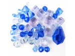 Preciosa Czech Crystal Shape Mix, Blue