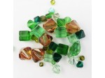 Preciosa Czech Crystal Shape Mix, Green