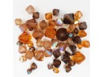 Preciosa Czech Crystal Bicone Bead Mix, Brown