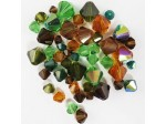 Preciosa Czech Crystal Bicone Bead Mix, Earth