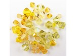 Preciosa Czech Crystal Bicone Bead Mix, Yellow
