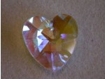 Crystal Heart Pendant crystal ab