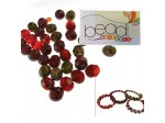 Do It Yourself Beading Kit, Fire Polished Picasso Mixed Beads